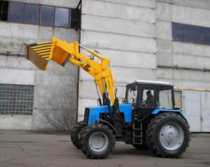Фронтальный погрузчик Борекс – 2270 на базе трактора BELARUS